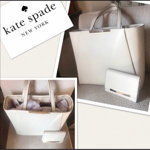 kate spade Bags - ✨KATE SPADE✨Authentic Tote & Wallet Set NEW!